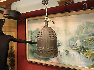 Japanese Temple Bell Bronze Buddhist   Video