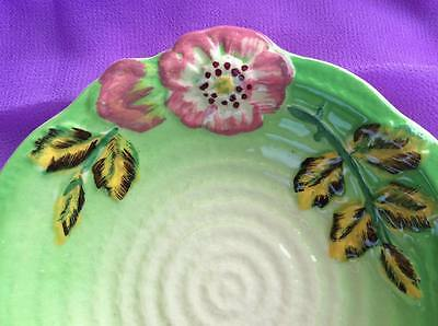 Staffordshire Shorter and Son Hand Painted Trinket Dish x 2