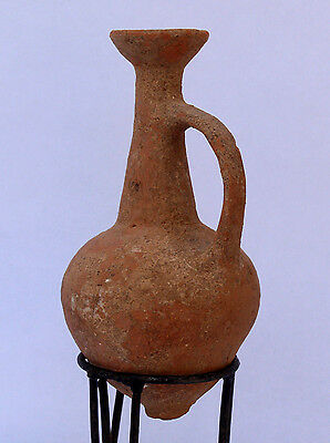 Ancient Cypriot Bil bil Juglet L.B Age, 1550-1200 BC.Imported into HOLYLAND