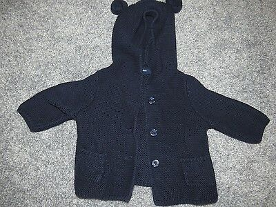 baby gap cardigan with ears 0-3 months boys or girls