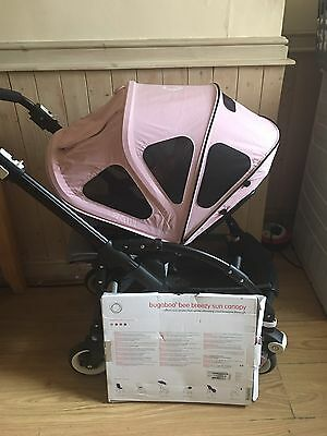 Bugaboo Bee Plus & Bee 3 Soft Pink Extendable Breezy Hood / Canopy