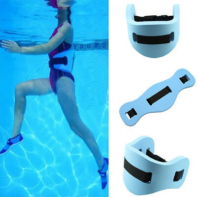 Blue Floatation Rehab Support Swim Exercise Train Flotation Belt Waistband New