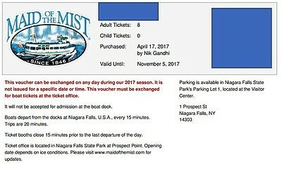 Maid of the Mist Tickets