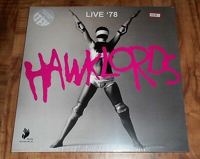 Hawklords, Live `78, Limited Edition Clear Vinyl 2 Record Set Mint Sealed Rsd