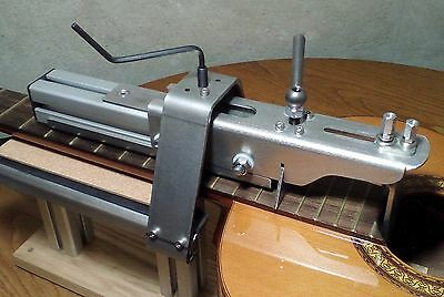 ACOUSTIC GUITAR FRET PRESS SYSTEM & GUITAR WORK STAND - Luthier Tool