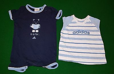2 x ADIDAS Baby Boy Clothing Size 00 in very good condition!
