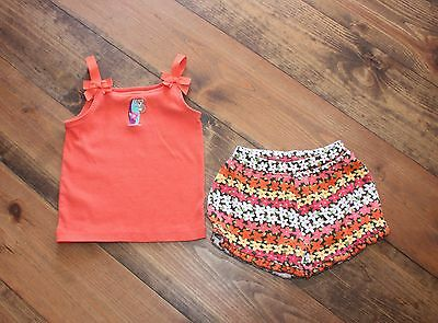 Gymboree Girl's 2-Pc Outfit Top And Shorts Size 5/6 Nice!