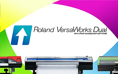 Roland Versaworks Dual Rip and Print Software -  CD VERSION / Download