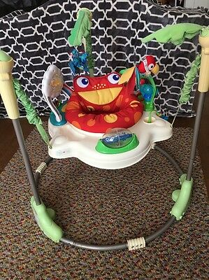 Fisher Price Rainforest Jumperoo With New Seat