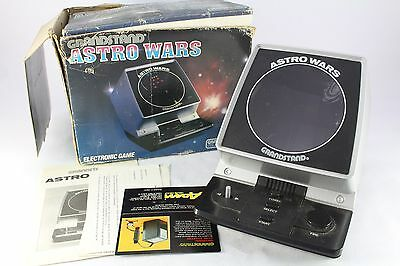 Grandstand LCD Game Astro Wars Boxed Fully Tested