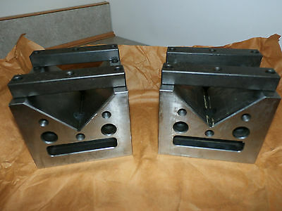 Machinist V-Blocks, (2) Large/Matched/Precision, Excellent Condition
