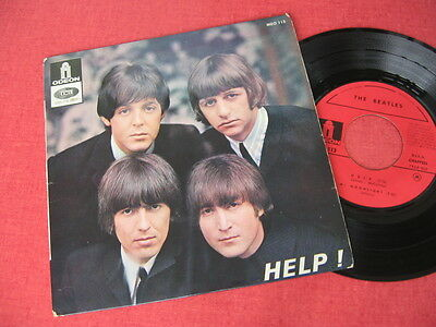 """The Beatles - Help! - 7"""" Ep - 45 French Press - Meo 113"""
