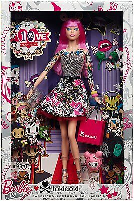 Brand New in Box 10th Anniversary Barbie Tokidoki doll