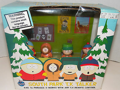 South Park TV Talker Comedy Central 1998 Cartman Kyle Stan Kenny Work Any Remote