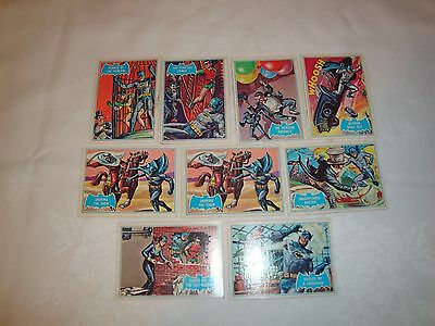 1966 National Periodical Publications Blue Batman trading cards