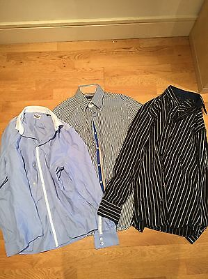 Collection Of Men's Shirts. Size Medium. Zara, River Island And Kartel