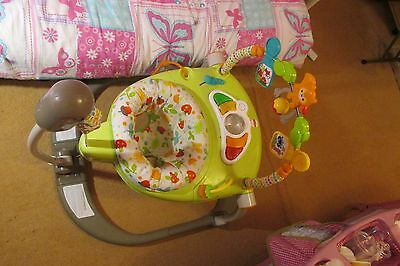 Fisher Price Woodlands Friends Spacesaver Jumperoo