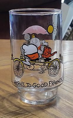 Here's To Good Friends - 1977 7up Collector Series ZIGGY Drinking Glass