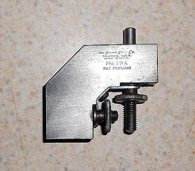 Lufkin No. 18A  Right angle Rule Clamp