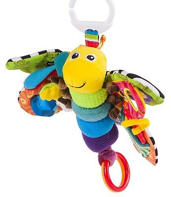 Lamaze Freddie Firefly Butterfly Soft Rattle Baby Activity Toy Fisher Price