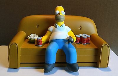 The Simpsons Fossil Gold Watch Homer On The Couch Limited Edition (Rare) Ceramic