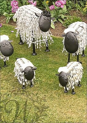 Sheep Large Animal Sculptures Outdoor Garden Statue Ornament Sculpture Metal