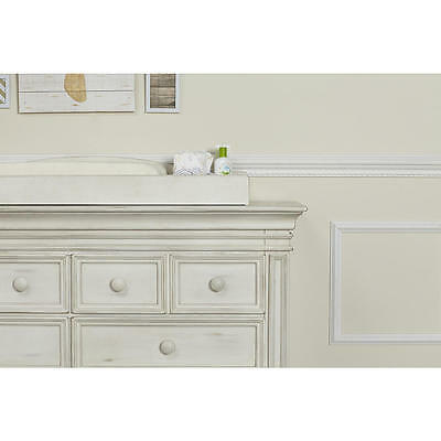 Baby Cache Vienna Changing Topper - Antique White