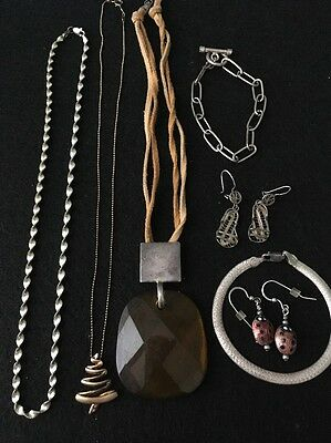 """Lot Vintage -Silver 925/ Sterling Jewelry-""""""""-Scrap Or Not"""""""" 78 Grams"""
