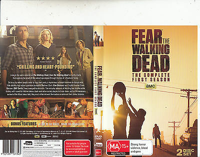 Fear The Walking Dead-2015-TV Series USA-[The Complete First Season 2 Disc]-DVD
