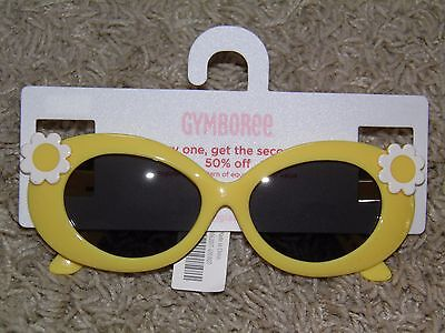 Girls Gymboree A Pop of Daisies Sunglasses Size 4yrs+ NEW!