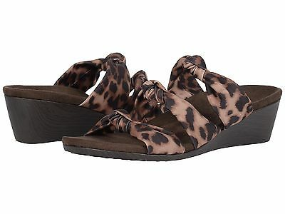33b62332b56f New Women`s VIONIC with Orthaheel Technology Park Rizzo Sandal Wedge Tan  Leopard