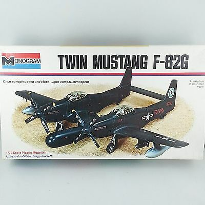 Monogram F-82G Twin Mustang USAF US Air Force - 1/72 Plastic Kit 7501-0175 AS-IS