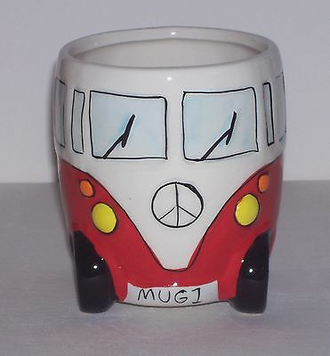 Red Kombi Style Coffee Mug - CAN ONLY POST ON FRIDAYS AT THE MOMENT