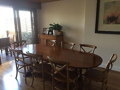 Antique Kauri Pine Dining Table