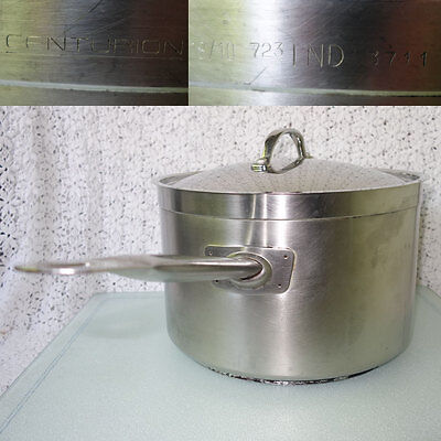 Vollrath 3711 Centurion Stainless Steel Induction 11-1/2 Qt Commercial Saucepan
