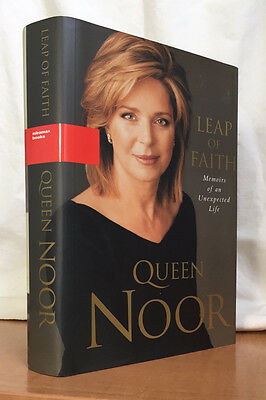 LEAP OF FAITH - Memoirs of an Unexpected Life by QUEEN NOOR (Hardcover)