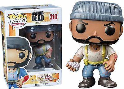 Funko POP! Rare Bloody Bitten Tyreese The Walking Dead Hot Topic Exclusive