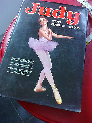 Collectable Annual book Judy for Girls 1970