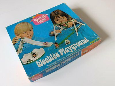 Hasbro - Weebles Playground mit Extras / Vintage Webbles Playground from 1972