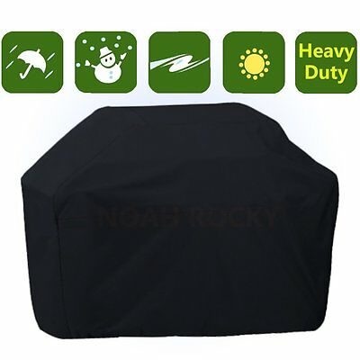 Outdoor Indoor Waterproof Heavy Duty BBQ Cover Gas Barbecue Grill Protection