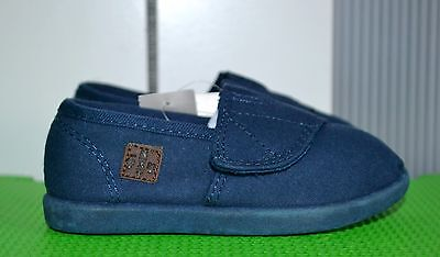 NEXT boys trainers canvas size UK 6 New with tags