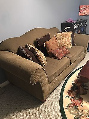 Couch Olive Green