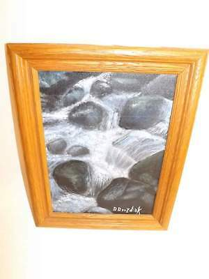 Waterfall OIL PAINTING BY DOROTHY DROZDIAK Pittsburgh Artist