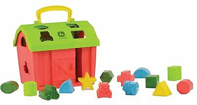 NEW Baby Child Learning Toys Barnyard 14 Different Shape Sorter 18 Months&Up
