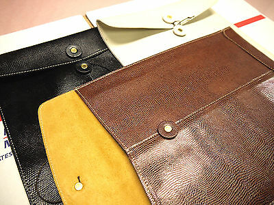 Wholesale Embossed Lizard Leather Envelopes  SPECIAL for ( 12 ) Pieces  LONG
