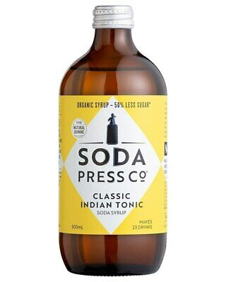 Soda Press Co Organic - Classic Indian Tonic Syrup 500ml