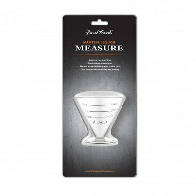 Final Touch: Martini Liquor Measure (Glass)