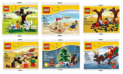 LEGO Seasonal Set 40054 - Beach Summer Scene MISB