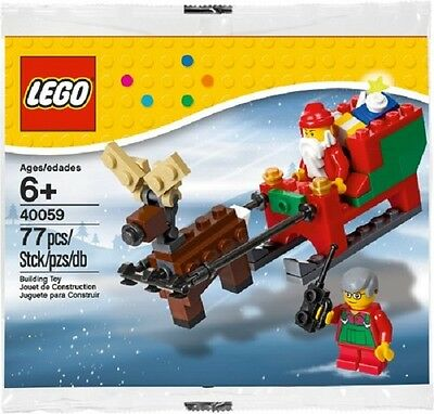LEGO Seasonal Set 40059 - Santa's Sleigh MISB
