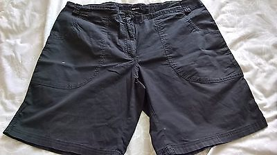 Maternity Shorts Black From H&m Size 14